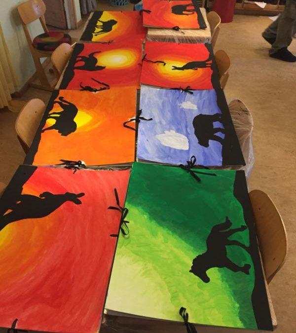 Kunst  in klas 5